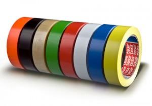 Banda simplu adeziva - suport PVC